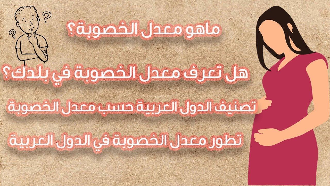 تعرف على معدل خصوبة الدول العربية