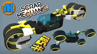 Download Scrap Mechanic \ #581 \ КЛАССНЫЙ ХОВЕРБАЙК ТРАНСФОРМЕР В СКРАП МЕХАНИК !!! Mp3 and Videos