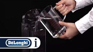 how to install a water softener filter on your de longhi autentica etam 29 510 sb coffee machine