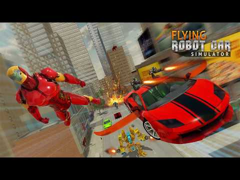 Flying Car Transform Robot Shooting Game Apps On Google Play