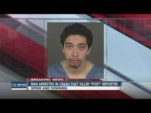 Man arrested in crash that killed Denver Post reporter