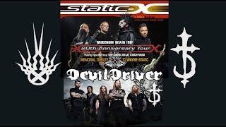 Wisconsin Death Trip 20 Year Anniversary Tour / Static-X / Devil Driver / Dope / Wayne Memorial