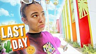 LAST DAY IN PALM SPRINGS!!🌵🌞🌈 Bye Coachella 2018