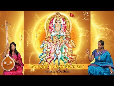 Simply the Best Ever Aditya Hridaya Stotram   Full Sanskrit & English Lyrics   Jyothsna & Radhika