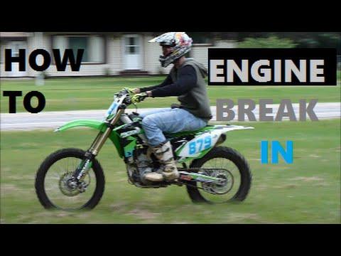 Motocross Rider Edit New Dirt Bike Motorcycle How To Break In Engine September 2015 - YouTube