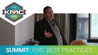 2018 KMC Genius Summit: KMC Update and Best Practices, Part 2