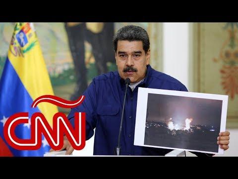 """Maduro culpa a """"un ataque cibernético de EE.UU."""" por el apagón que cumplió 100 horas en Venezuela"""
