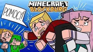 MIASTO ZAGROŻONE! *Porwali plepsa*- Minecraft BlockBurg