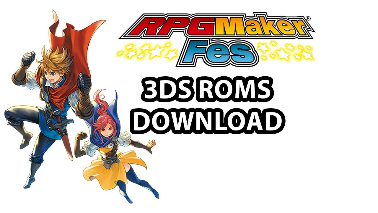 RPG Maker FES | Gameplay | 3ds Roms | 3ds CIA | Download ...