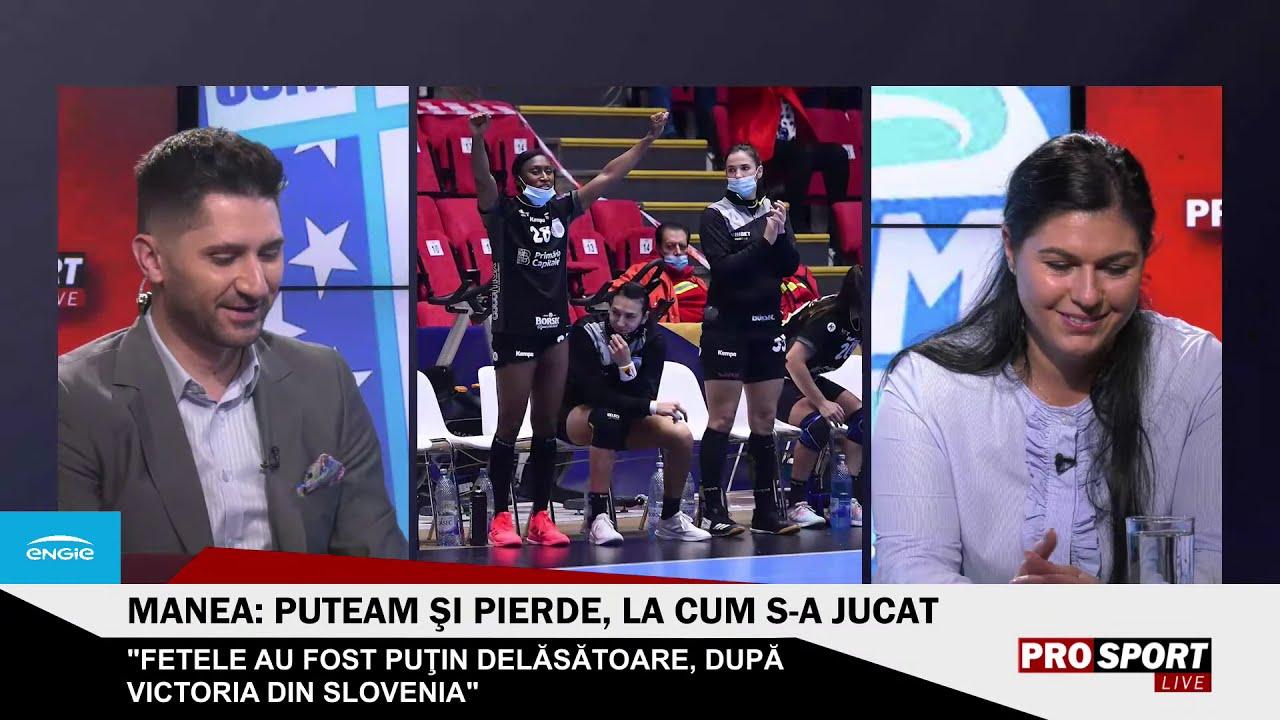 ProSport LIVE ? Ediție specială după CSM București - Krim. Oana Manea este invitată
