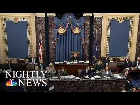 Democrats Make Opening Arguments In Trump's Impeachment Trial | NBC Nightly News