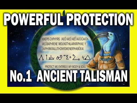 No.1 Most Powerful Protection Ancient Talisman - How to use it explained