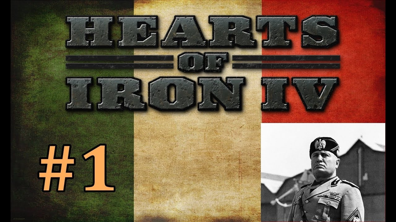 Hearts of Iron 4 EP1 | Italian Campaign | Lets Play HOI4 Italy Gameplay