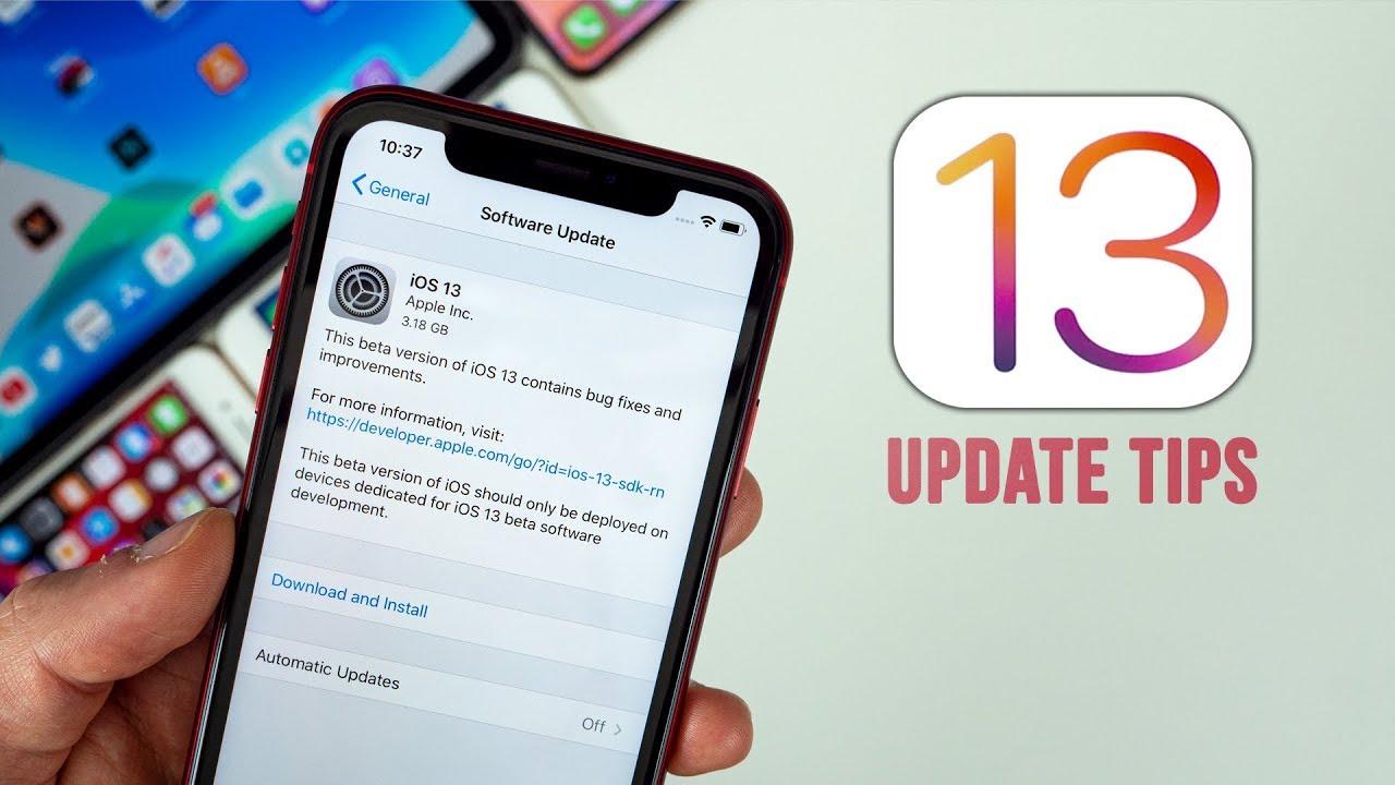 updating iphone version