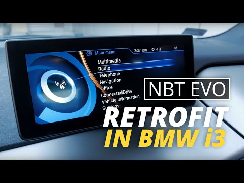 How to Install an NBT EVO ID6 in a BMW i3 in Under 60