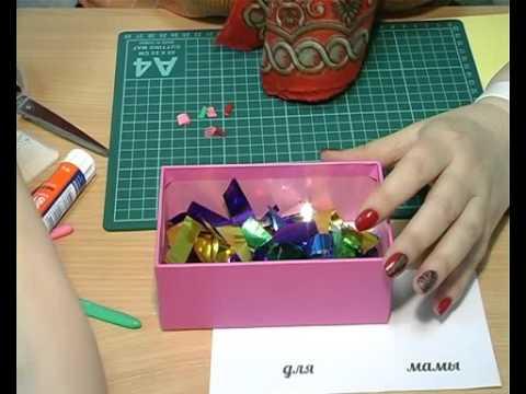 Коробка пожеланий своими руками