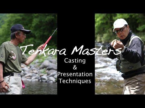 Tenkara Masters: Lessons w/ Dr. Hisao Ishigaki and Sakakibara Masami | AvidMax