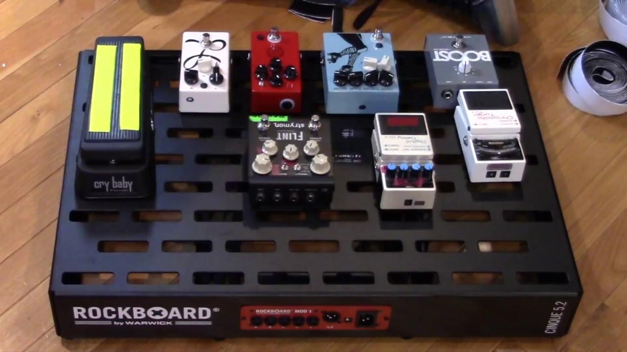 pedalboard only ROCKBOARD RBO B 5.4 CINQUE X