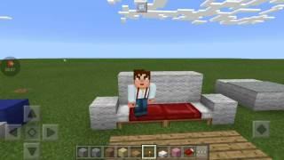 Minecraft tutorial de tipos de sofá