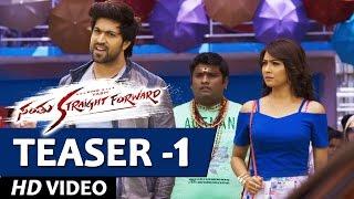 Santhu Straight Forward Video Teaser 1 | Yash, Radhika Pandit |  V. Harikrishna | Mahesh Rao