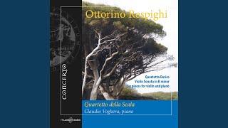 Violin Sonata in B Minor, P. 110: III. Passacaglia: Allegro moderato ma energico