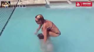Best New Girls Funny POOL Fails 2018 Latest Funny POOL fail Video