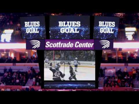 Scottrade Center Scoreboard