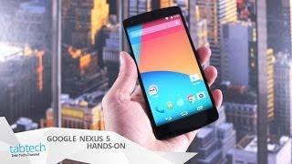 Google Nexus 5: Ausführliches Hands-On und Gaming Check (Deutsch) | tabtech.de