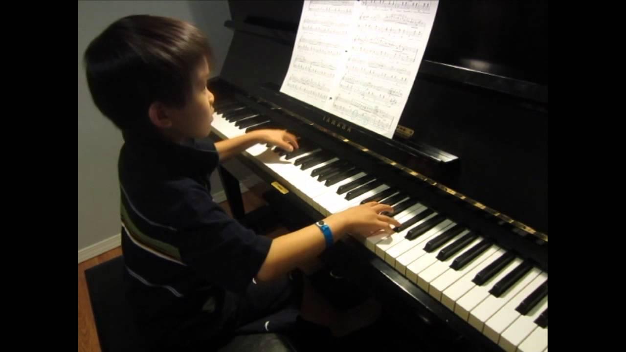 Alex 6 Plays Piano Rcm Grade 6 Chopin Waltz In A Minor