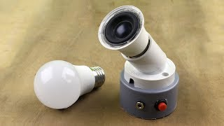 How to make a bluetooth speaker with bulb