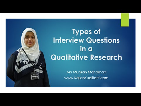 Types of interview questions [www.KajianKualitatif.com]