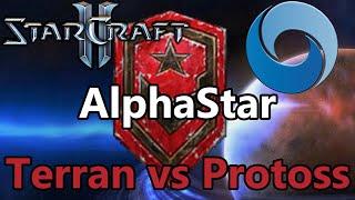 DeepMind AI AlphaStar Final - Terran vs Protoss - StarCraft II [Deutsch]
