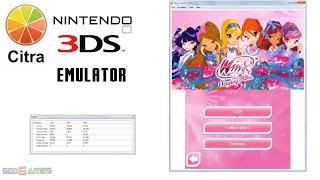 Citra 3DS Emulator - Winx Club: Saving Alfea Gameplay HW renderer enabled!