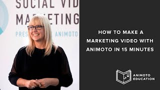 How To Make A Marketing Video In Less Than 15 Minutes In Animoto