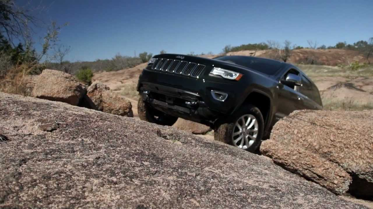 Jeep Grand Cherokee Overland >> 2014 Diesel Jeep Grand Cherokee Off Road Test - YouTube