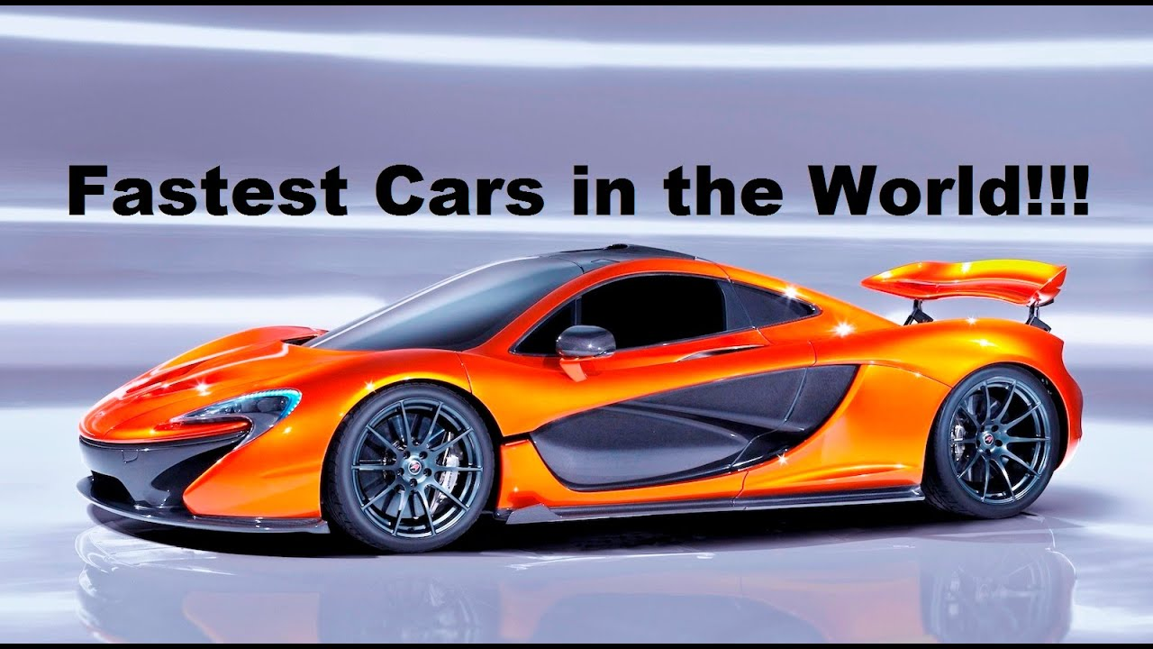 Top 10 Fastest Cars in the World! LaFerrari, Venom GT, McLaren F1 ...