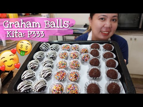 GRAHAM BALLS Recipe for Business with Costing thumbnail