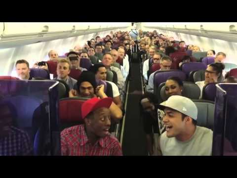 The Lion King Australia Cast sings Circle of Life on the Flight home