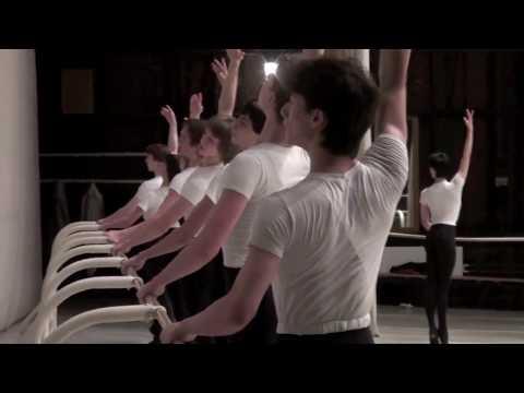 Master class in Bolshoi Ballet Academy