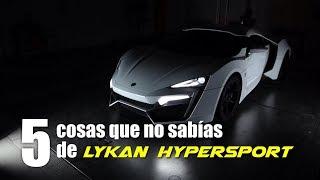 Lykan Hypersport - 5 cosas que no sabías