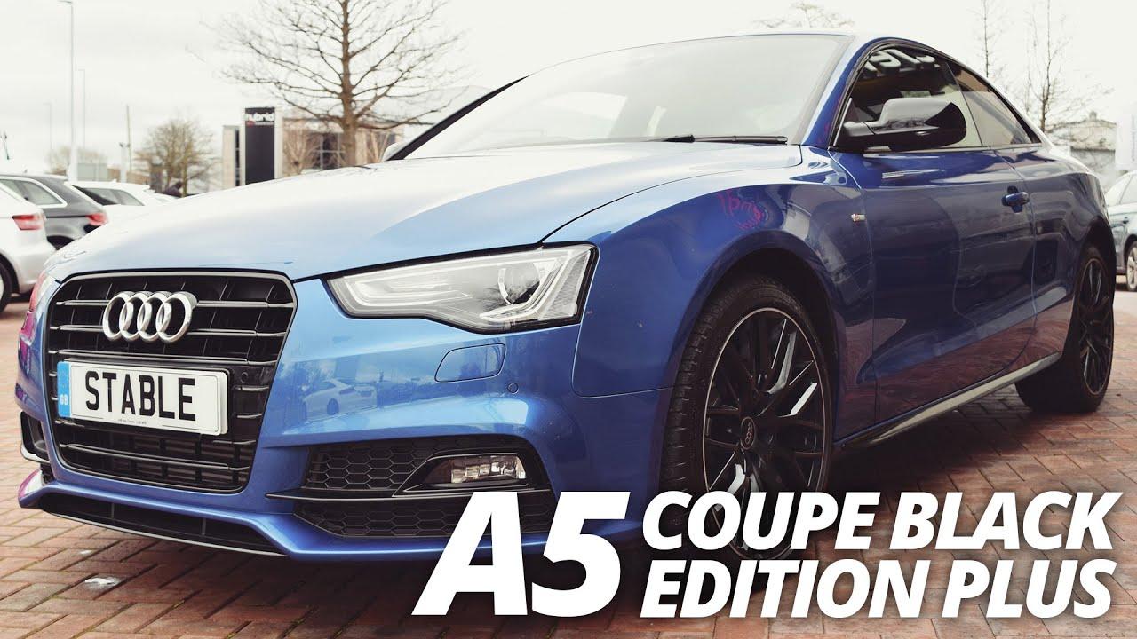2016 Audi A5 Coupe Black Edition Plus Sepang Blue Walk
