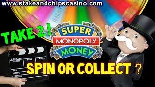 TAKE 2 ! BIG WIN OR FAIL ? 🚨 SUPER MONOPOLY SLOT WHEEL BONUS 🚨 Casino game