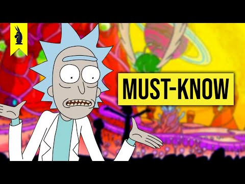 RICK & MORTY's Must-Know References! –Wisecrack Edition