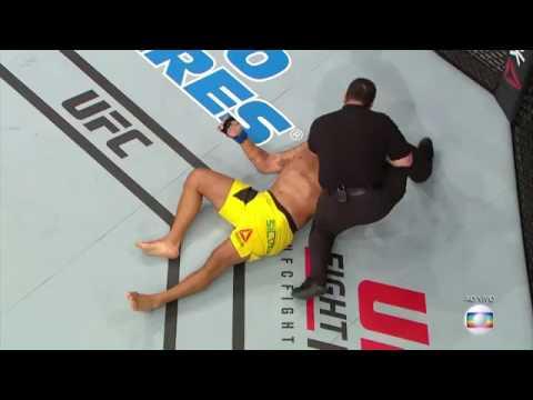 UFC Combate Roy Nelson vence Antonio Pezão por nocaute no último round no UFC Brasília