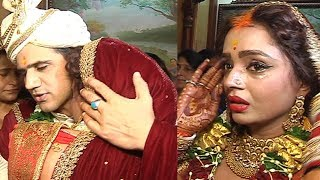 Parul Chauhan के Bidaai Ceremony का वीडियो