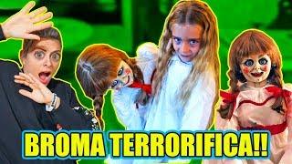 😱 BROMA TERRORÍFICA con ANNABELLE 👻 ItarteVlogs