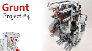 Grunt - Project #4 from Building Smart LEGO MINDSTORMS EV3 Robots