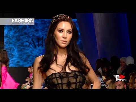 AIISHA RAMADAN 4th Arab Fashion Week Ready Couture & Resort 2018 - Fashion Channel