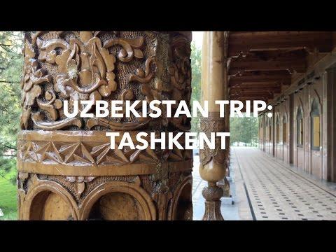Trip to Uzbekistan Part 1: Tashkent