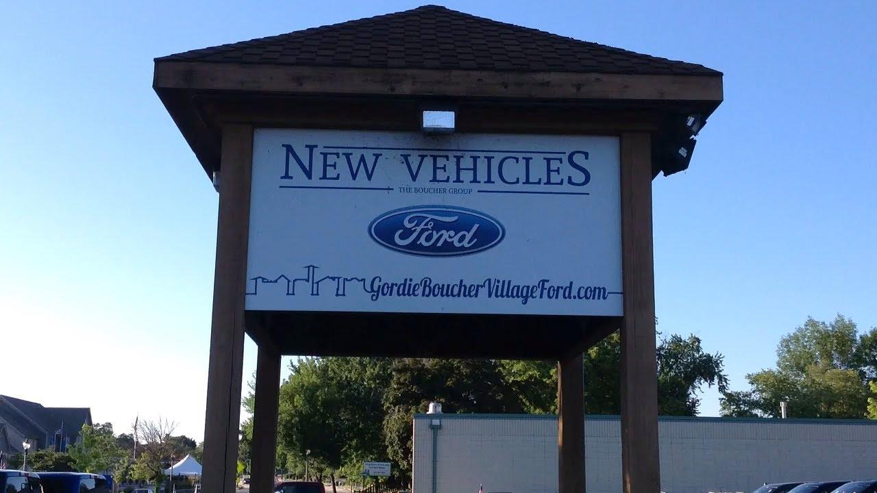 Gordie Boucher Village Ford 2018 Ford Fusion
